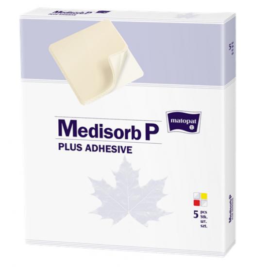 Medisorb P Plus Adhesive pansament poliuretan 10CMX10cm a 5