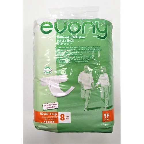 Evony scutece adulti large nr. 3 8buc/set