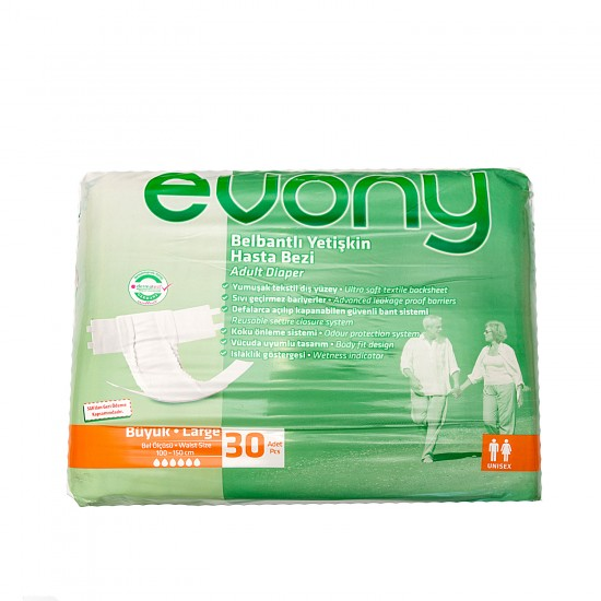 Evony scutece adulti large nr. 3 30buc/set