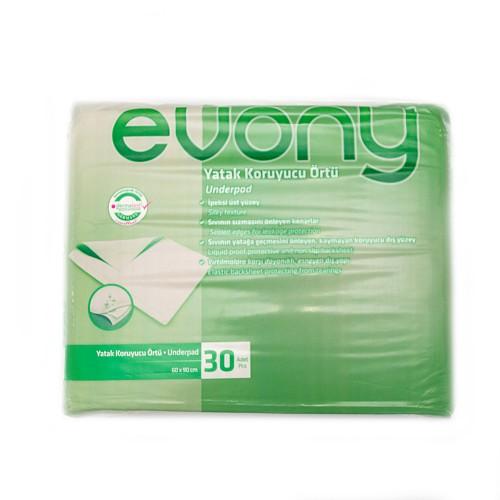 Aleze / Protectii pentru pat Evony 60 x 90 cm, 30 buc