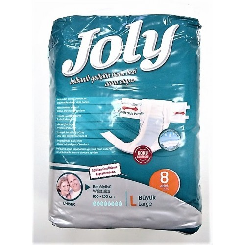 Joly Scutece Adulti Large Premium 8 buc/set super absorbante