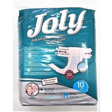 Joly Scutece Adulti Premium Medium 10 Buc/Set super absorbante