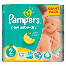 Scutece Pampers nr 2 100 buc Giant