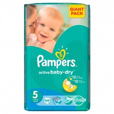 Scutece Pampers nr 5 64 buc Giant