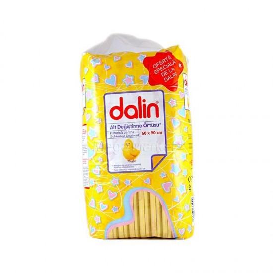 Dalin protectie pat 60x90cm 10 buc
