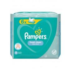 Pampers servetele umede baby fresh 6 x 52 buc/pachet
